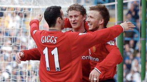 Trân thắng đậm nhất trên sân nhà của M.U trước Southampton (6-1, ngày 22/12/2001)