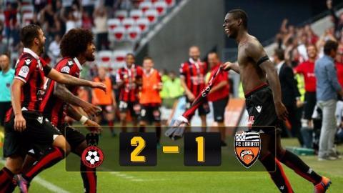 Nice2-1Lorient (Vòng 8 Ligue 1 2016/17)