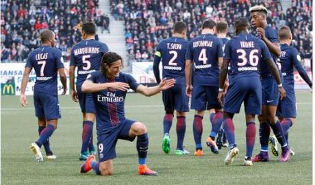 Vòng 9 Ligue 1: PSG áp sát ngôi đầu
