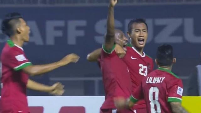 2-1 cho Indonesia saupha đánh đầu hiểm hóc của Hasamu Yama