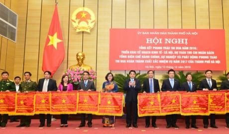 Thành phố Hà Nội phát động phong trào thi đua yêu nước năm 2017