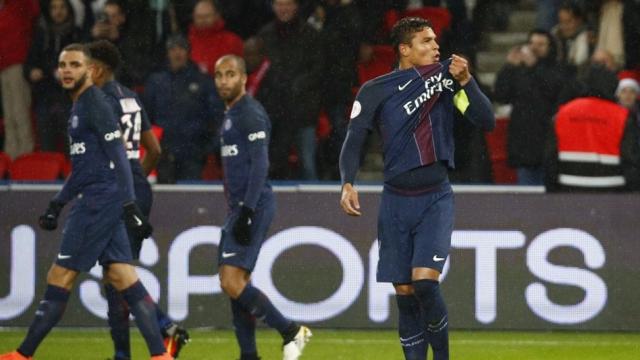 PSG 5-0Lorient (Vòng 19 Ligue 1 2016/17)