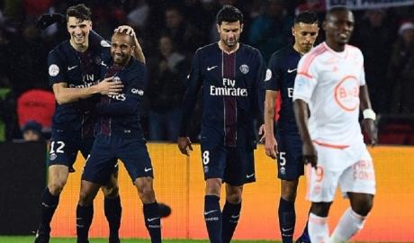 Vòng 19 Ligue 1: PSG đại thắng, Nice bị cầm hòa