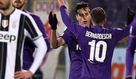 Vòng 20 Serie A: Juventus gục ngã trên sân của Fio, bị Roma áp sát