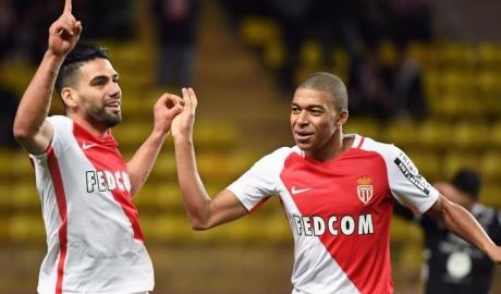 Falcao lập cú đúp, Monaco đại thắng 5