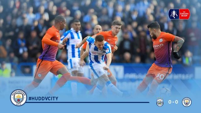 Huddersfield Town 0-0 Man City (Vòng 5 FA Cup 2016/17)