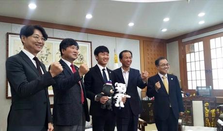 Xuân Trường chính thức trở thành Đại sứ hình ảnh tỉnh Gangwon