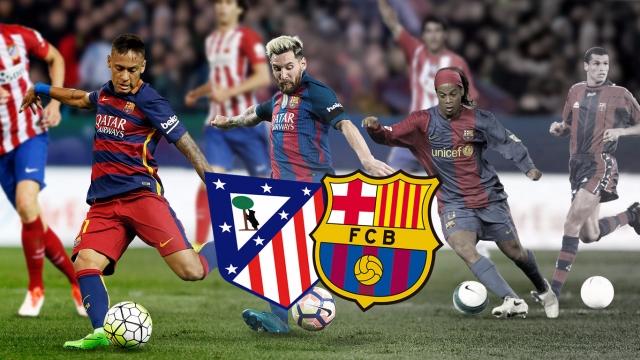 10 bàn thắng đẹp nhất vào lưới Atletico của Barca