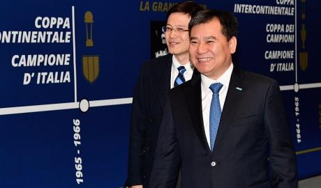 Ông chủ của Inter Milan sang Madrid chốt vụ James Rodriguez