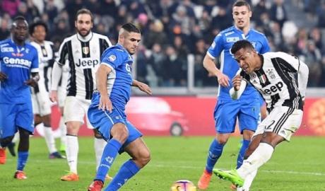Thắng nhẹ Empoli, Juve hơn Roma tới 10 điểm