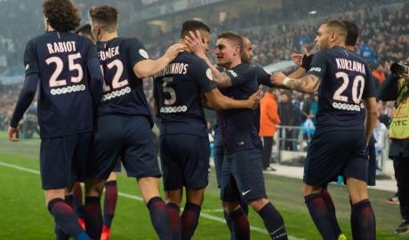 """Hủy diệt Marseille, PSG """"phả hơi nóng"""" vào Monaco"""