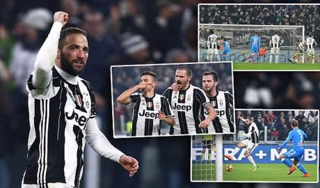 Dybala tỏa sáng, Juve đánh bại Napoli