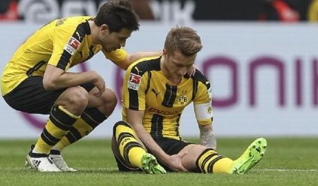 Dính chấn thương, Marco Reus nghỉ 4 tuần