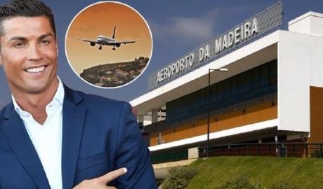 Sau bảo tàng và khách sạn, Ronaldo được đặt tên cho cả sân bay