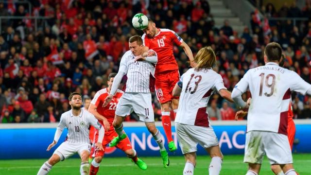 Thụy Sỹ 1-0 Latvia (Vòng loại World Cup 2018 khu vực châu Âu)