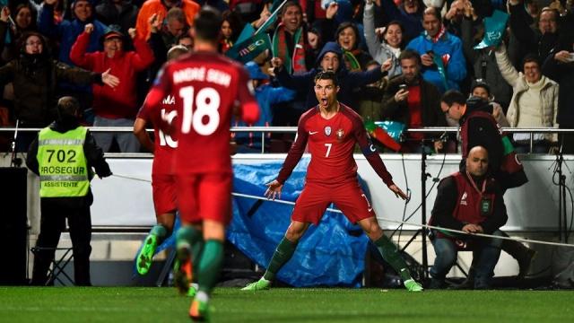 Bồ Đào Nha 3-0 Hungary (Vòng loại World Cup 2018 khu vực châu Âu)