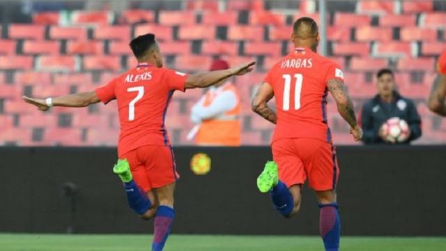 Chile 3-1 Venezuela (Vòng loại World Cup 2018 khu vực Nam Mỹ)
