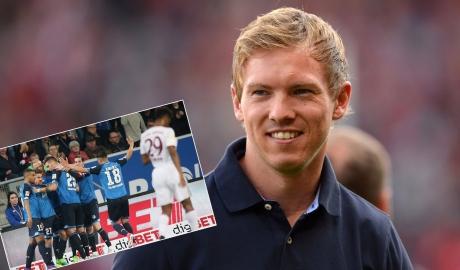 Hoffenheim quật ngã Hùm xám: Lại ngả mũ trước Nagelsmann