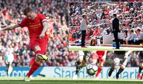 Milner hỏng phạt đền, Liverpool bạc nhược huề Southampton