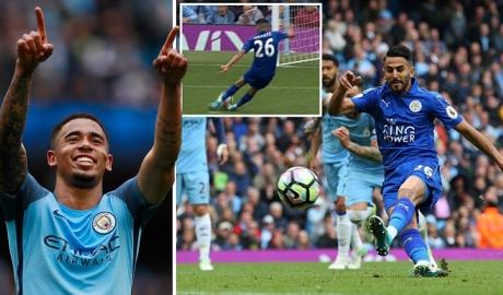 Hòa hú vía Leicester, Man City tái chiếm vị trí của Liverpool