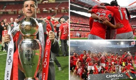 Benfica lần thứ 4 liên tiếp làm bá chủ Bồ Đào Nha
