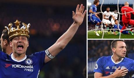 """Chelsea tạo """"mưa"""" bàn thắng mừng ngôi hậu"""
