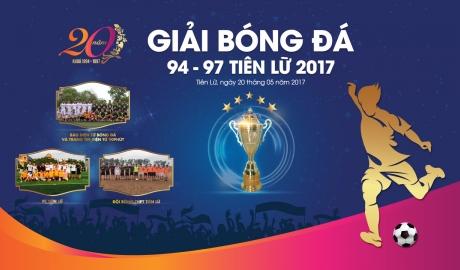 Báo điện tử Bóng đá và 90phut tranh tài tại Giải bóng đá 94-97 Tiên Lữ 2017