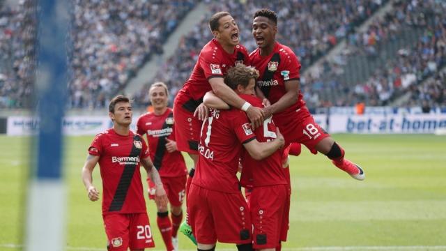 Hertha Berlin 2-6 Leverkusen (Vòng 34 Bundesliga 2016/17)