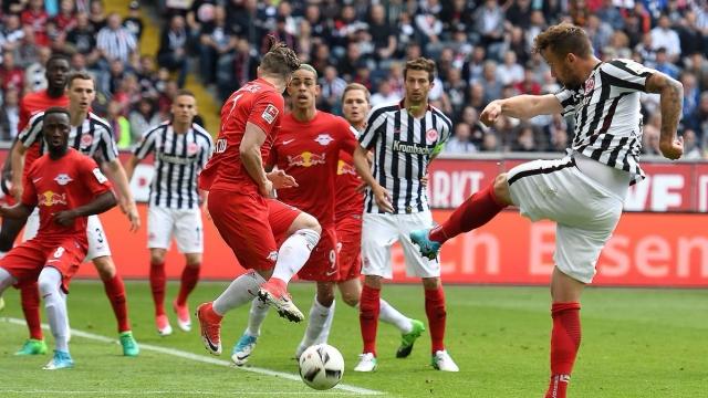 Frankfurt 2-2 Leipzig (Vòng 34 Bundesliga 2016/17)
