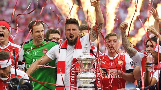 Thời khắc đăng quang FA Cup 2017 của Arsenal