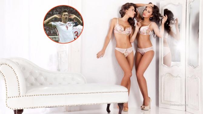 Siêu mẫu đồng hương phấn khích vì hat-trick của Lewandowski