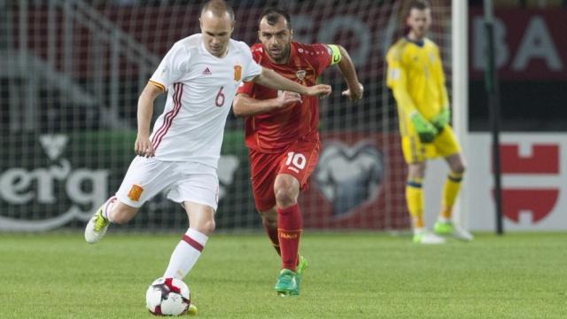 Macedonia 1-2 Tây Ban Nha (Vòng loại World Cup 2018)
