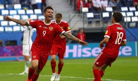 Thắng nhàn, Nga mở màn Confed Cup suôn sẻ