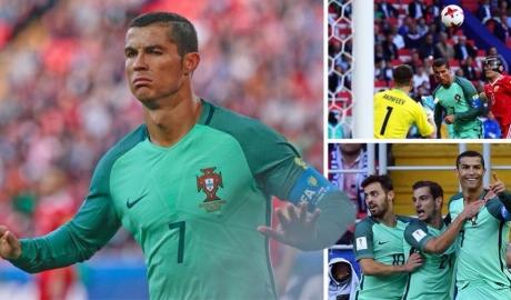 Ronaldo thông nòng, Bồ đánh sập hang Gấu