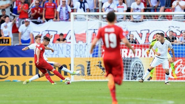 U21 Czech 3-1 U21 Italia (Bảng C VCK U21 châu Âu 2017)