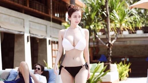 """Hot girl Hàn Quốc sở hữu vòng 1 """"khủng"""" nhất châu Á"""