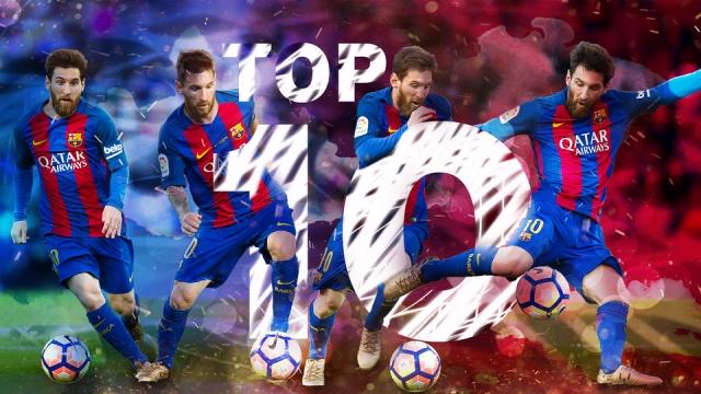 10 bàn thắng đẹp nhất mùa giải 2016/17 của Messi