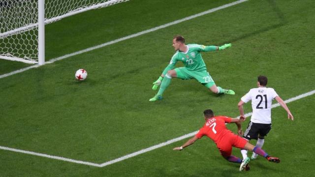 Đức 1-1 Chile (Bảng B Confed Cup 2017)