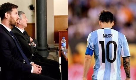 Messi phải