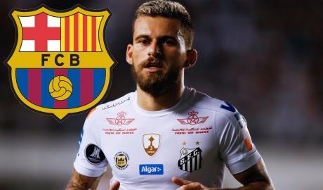 Barcelona bị kiện vì đi đêm với cầu thủ của Santos