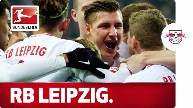 Thưởng thức 10 bàn đẹp nhất Bundesliga mùa trước của Á quân RB Leipzig
