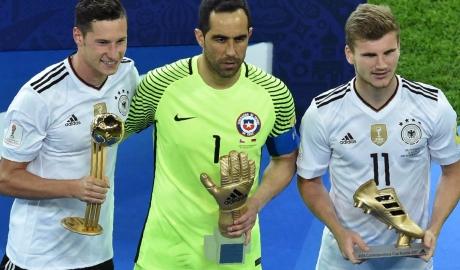 Draxler ẵm giải Cầu thủ xuất sắc nhất Confed Cup 2017