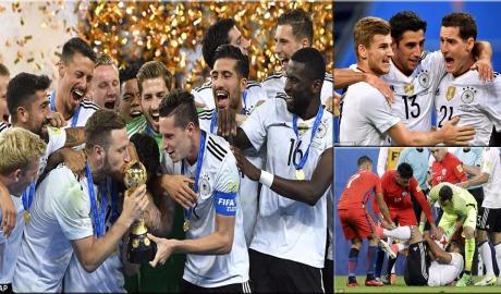 Đức vô địch Confed Cup: Khi sức trẻ là tiên quyết