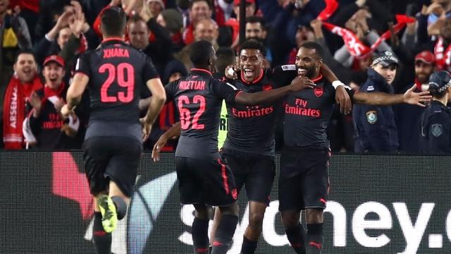 Sydney 0-2 Arsenal (Giao hữu quốc tế 2017)
