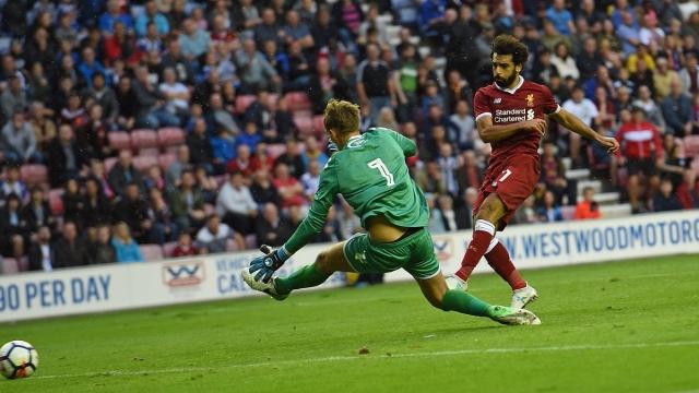 Wigan 1-1 Liverpool (Giao hữu quốc tế 2017)
