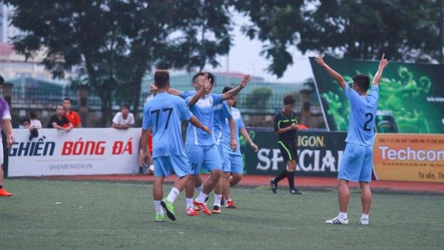 Nguyễn Trãi 2-0 Du Lịch (Vòng 6 giải hạng Nhất phủi Cúp SG Special lần 2)
