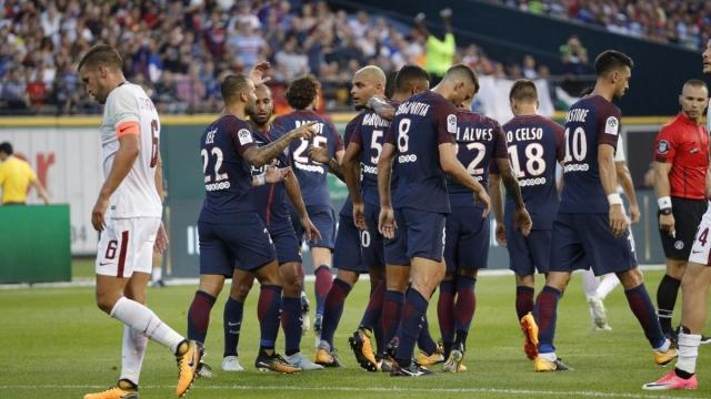 Roma 1-1 PSG (pen 3-5) (Giao hữu quốc tế 2017)
