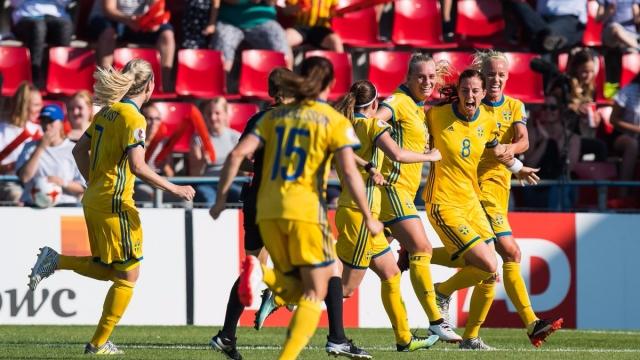 Thụy Điển 2-0 Nga(Bảng B EURO nữ 2017)