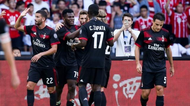 Bayern 0-4 Milan (Giao hữu quốc tế 2017)