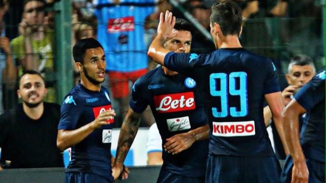 Napoli 1-1 Chievo (Giao hữu quốc tế 2017)